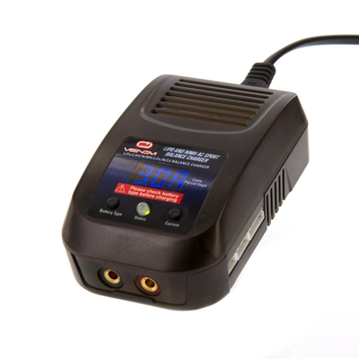 Venom AC Sport Balance Charger for LiPo/NiMH, 0688