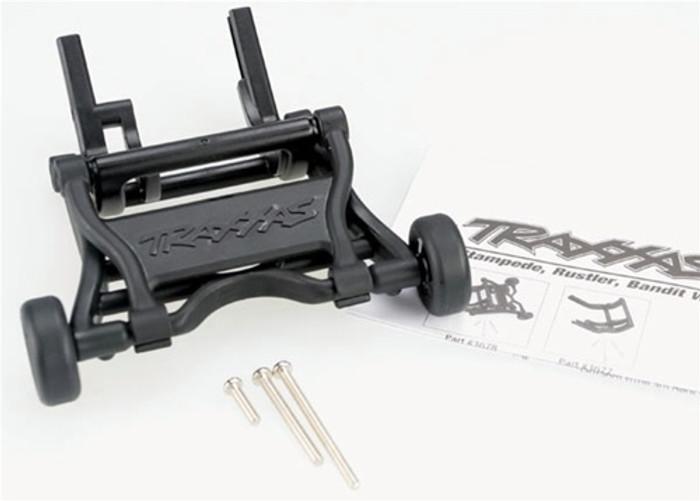 Traxxas Wheelie Bar, assembled (fits Stampede, Rustler, Bandit series), 3678