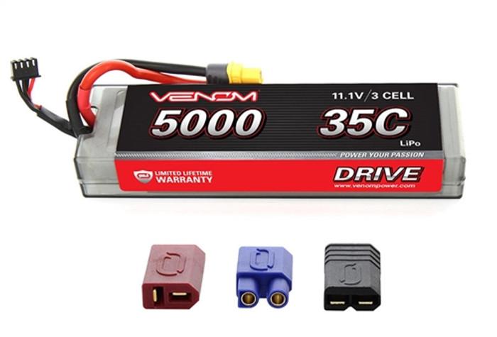 Venom 35C 5000mAh 11.1V LiPo Hardcase Battery - UNI Plug 2, 15128