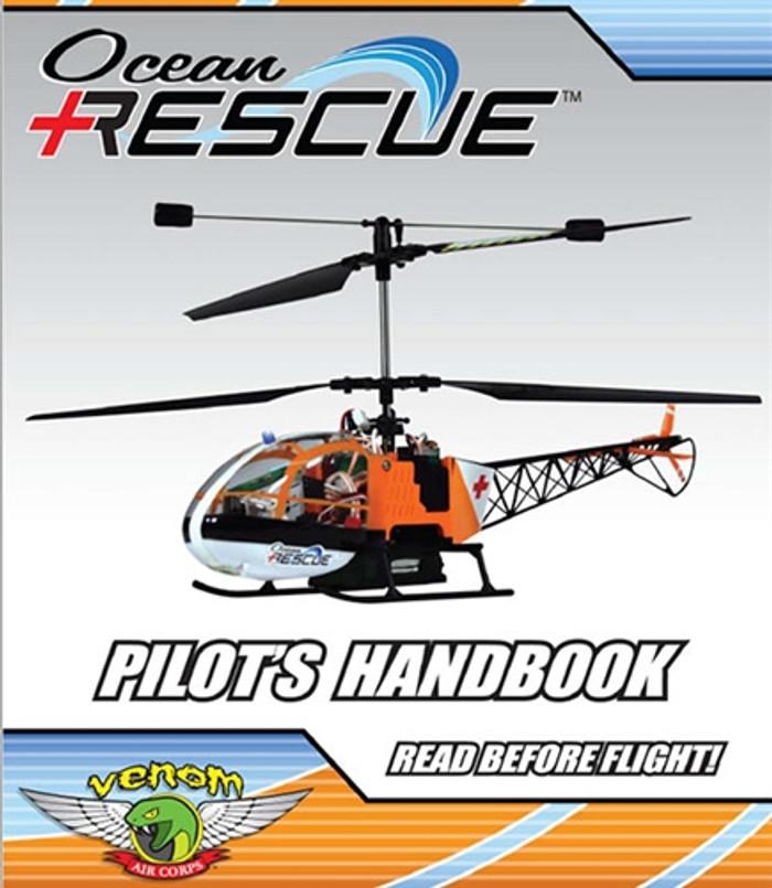 Venom Ocean Rescue Helicopter User Manual Download