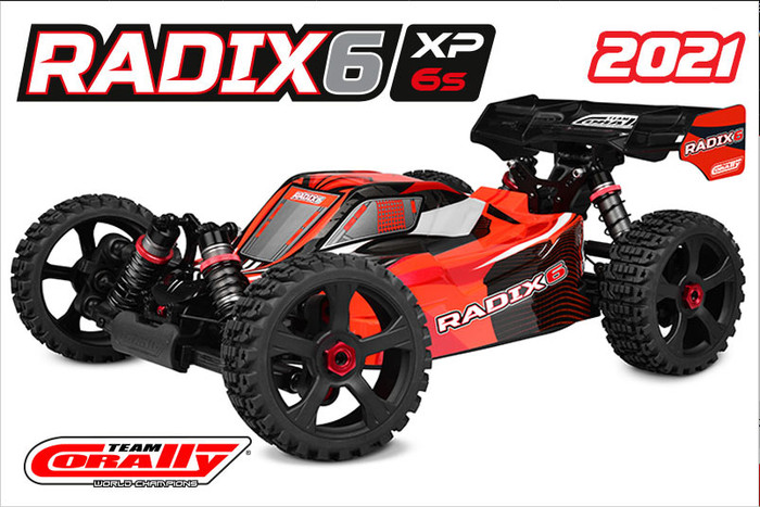 Team Corally 1/8 Radix6 XP 4WD Buggy 6S Brushless, C-00185