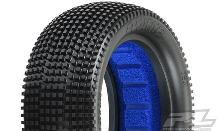 "Pro-Line Fugitive 2.2"" M3 Soft 4WD Off-Road Buggy Front Tires, 8296-02"