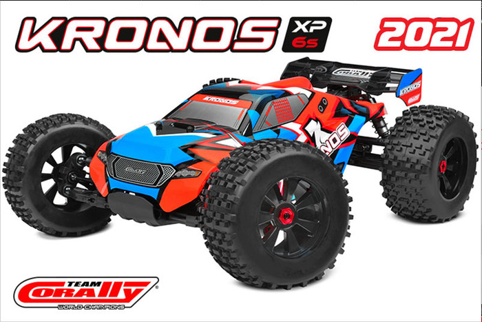 Team Corally 1/8 Kronos XP 2021 V2 4WD Monster Truck 6S Brushless, C-00172