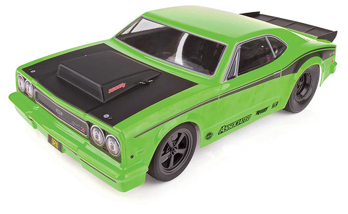Associated DR10 Drag Race Car Brushless RTR LiPo Combo - Green, 70026C
