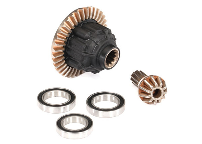 Traxxas Complete Rear Differential for X-Maxx 8S, 7881
