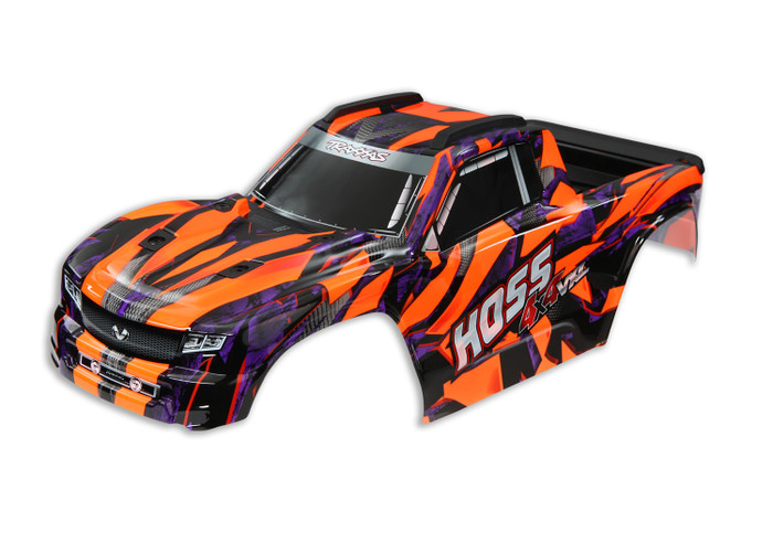 Traxxas Orange Body for Hoss 4x4 VXL, 9011A