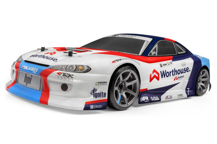 HPI Racing RS4 Sport 3 Drift RTR James Deane Team Worthouse Nissan S15, 120097