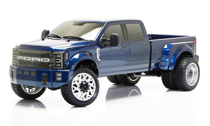 CEN Ford F450 1/10 4WD Solid Axle RTR Truck - Blue Galaxy, 8980