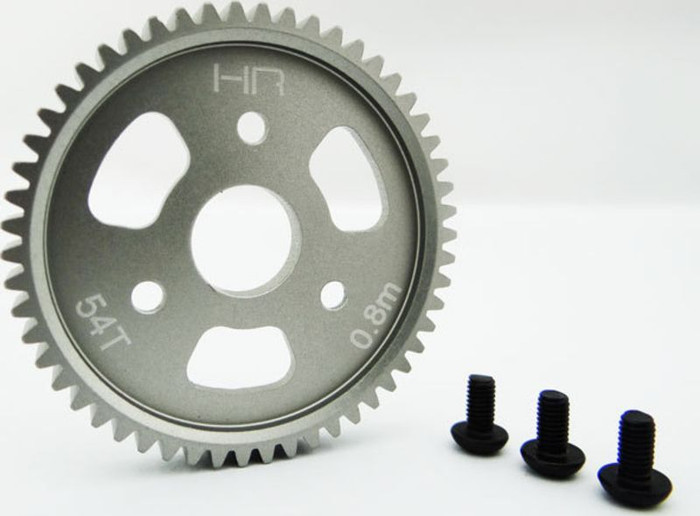 Hot Racing Aluminum Slipper Spur Gear 54-T for Traxxas Slash 4X4/Jato 3.3