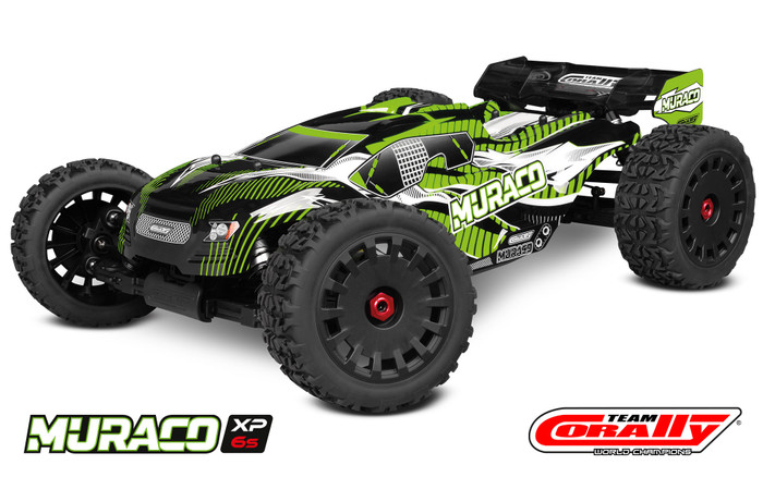 Team Corally 1/8 Muraco XP 6S 4WD LWB Brushless Truggy, C-00176