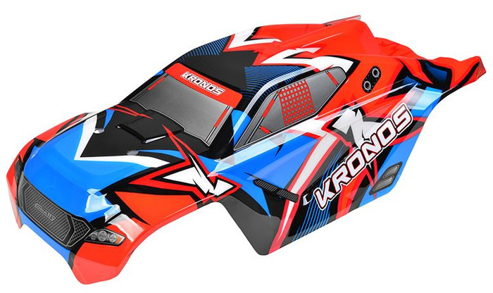 Team Corally Kronos XP V2 2021 Painted PC Body - 1/8, C-00180-379-2