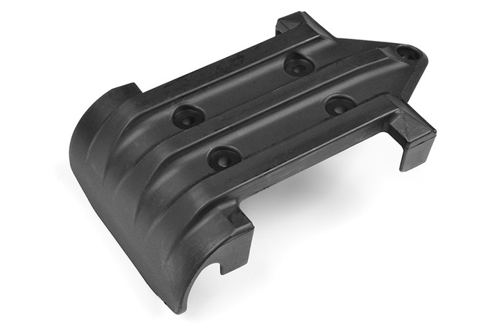 Team Corally Front Bumper with Skid Plate - 1/8 Jambo/Kronos V2/Dementor V2, C-00180-551