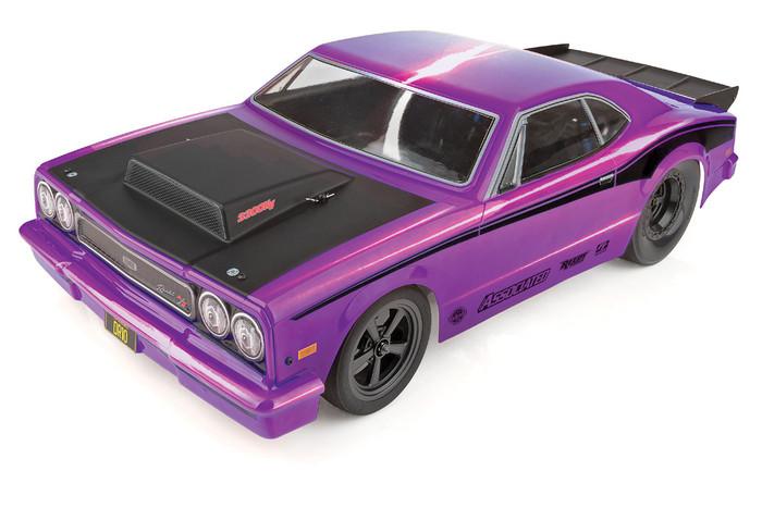 Associated DR10 Drag Race Car Brushless RTR LiPo Combo - Purple, 70028C