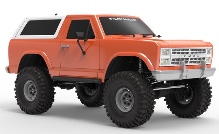 Cross AT4 1/10 EMO 4X4 RTR Crawler - Orange