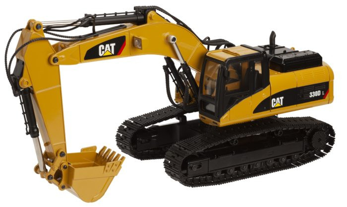 Diecast Masters CAT 1/20 Scale RC 330D Excavator RTR, 28001