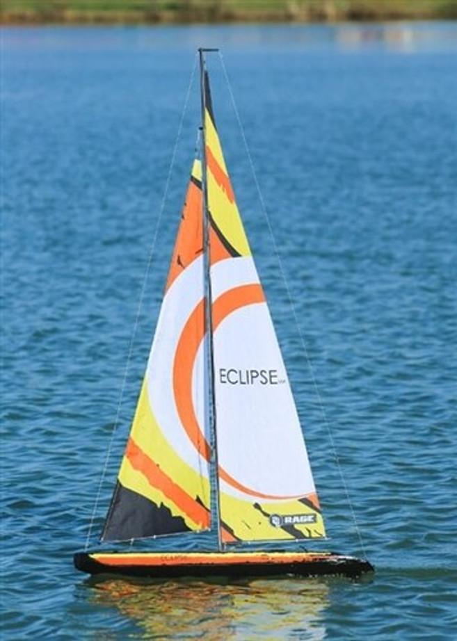Rage R/C Eclipse 1M RTR Sailboat V2, B1301
