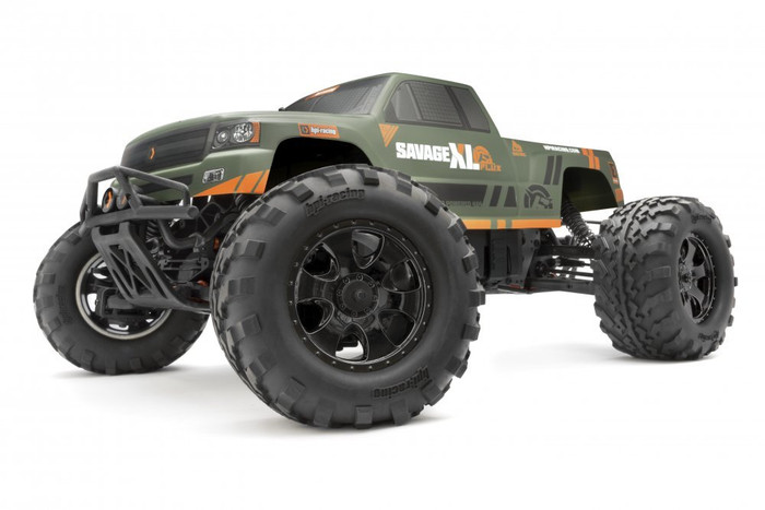 HPI Racing Savage XL FLUX GTXL-1 4WD 1/8 Monster Truck RTR, 160095