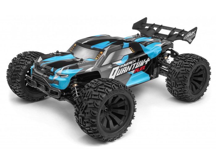 Maverick Quantum+ XT Flux 3S Brushless 1/10 4WD Stadium Truck RTR - Blue, 150300