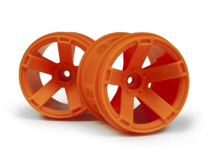 Maverick Orange Wheels (2) for Quantum XT, 150165