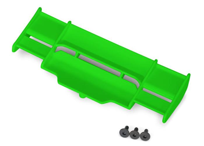 Traxxas Green Wing for Rustler 4X4, 6721G