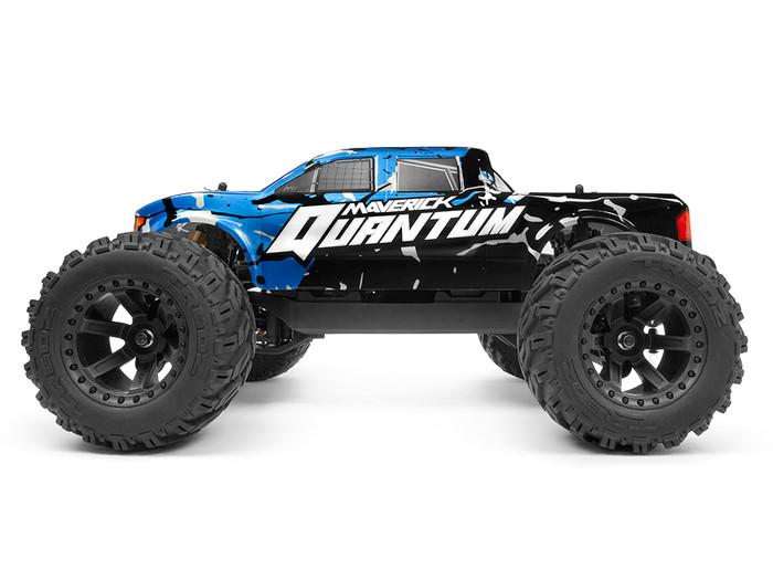 Maverick Quantum MT 1/10 4WD Monster Truck RTR - Blue, 150100