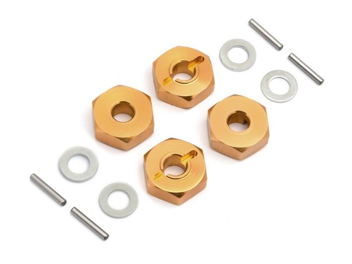 Maverick 14mm Wheel Hex Hub Set (4-pcs) for Quantum+ FLUX, 150233