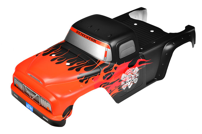 Team Corally Painted PC Body for 2021 Dementor XP C-00180-381-2