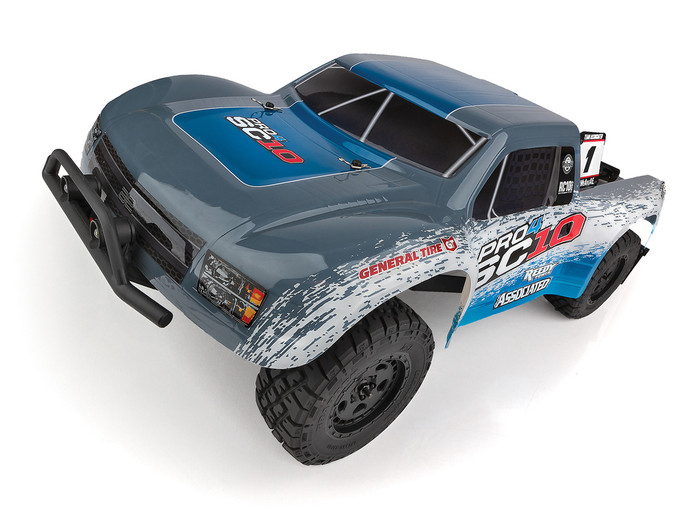 Associated Pro4 SC10 Off-Road 1/10 4WD Electric Short Course Truck RTR LiPo Combo, 20530C