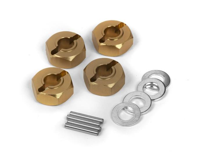 Maverick Aluminum 12mm Wheel Hex Hub Set (4) for Quantum MT/XT, 150184