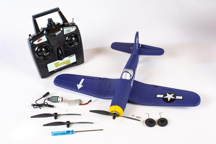 Rage F4U Corsair Micro RTF Airplane w/PASS, A1301
