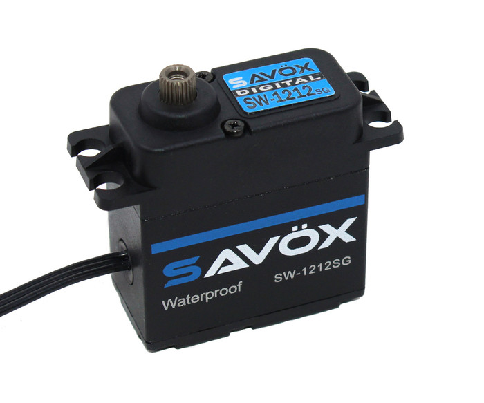 Savox SW-1212SG Waterproof High-Torque High-Voltage Coreless Digital Servo - Black Edition