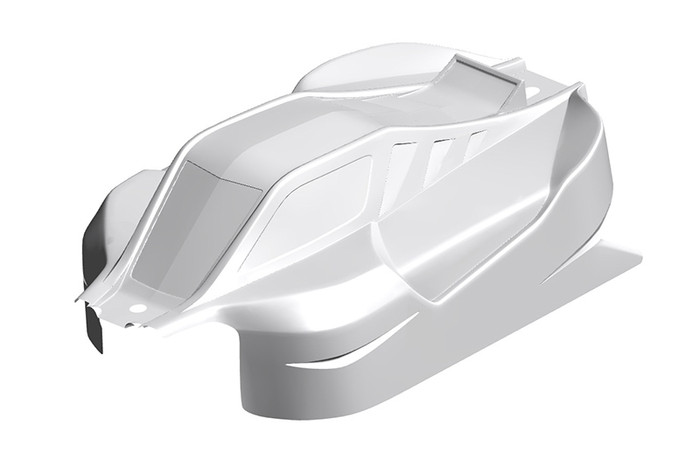 Team Corally Clear PC Body for Radix XP C-00185-377