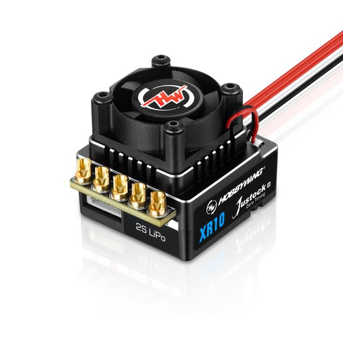 Hobbywing XR10 Justock G3 2S Black ESC, 30112003