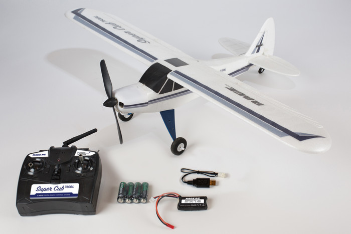 Rage Super Cub 750 Brushless RTF 4-Channel Airplane, A1500