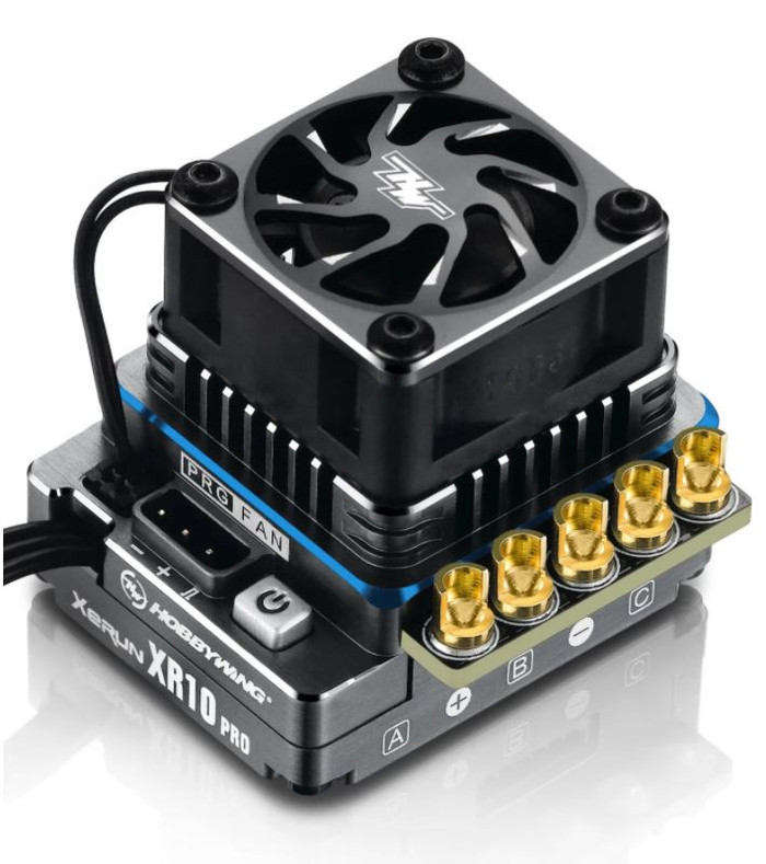 Hobbywing XeRun XR10 Pro G2 160-Amp Brushless ESC Elite Edition - Electric Blue, 30112612