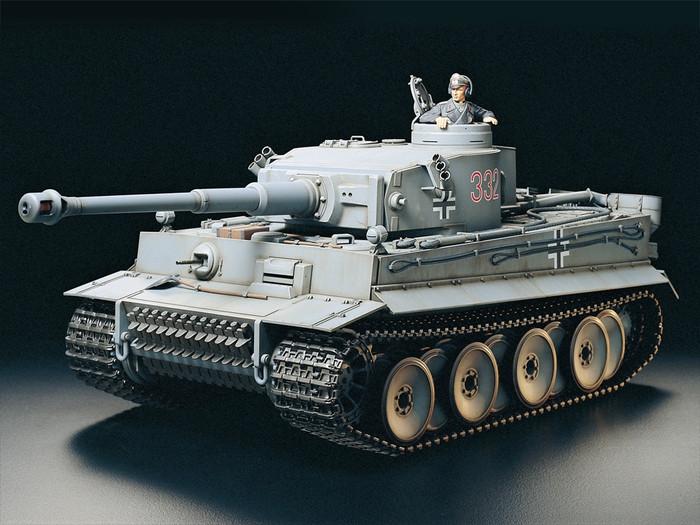 Tamiya 1/16 RC Tiger I DMD/MF01 Accessory Full Option Tank Kit, 56010