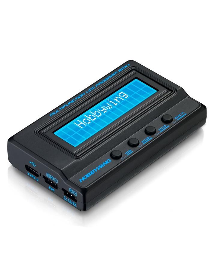 Hobbywing Multifunction LCD Professional Program Box (G2) ESC Programmer, LiPO Battery Voltmeter, USB Adapter, 30502001