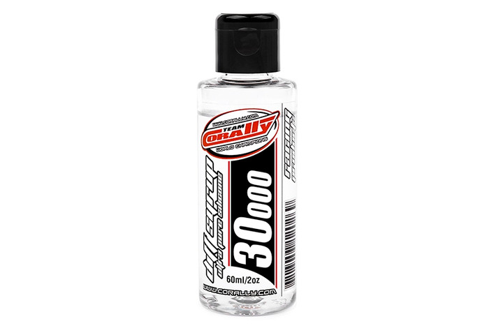 Team Corally 30000 CPS Ultra Pure Silicone Diff Oil Syrup - 60ml, 81530