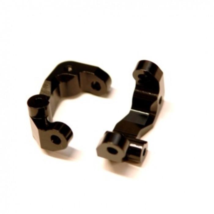 ST Racing CNC Machined Aluminum Caster Blocks for Associated DR10 - Black, 91417CBK