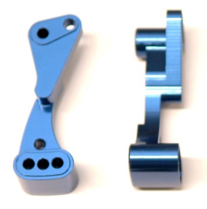 ST Racing CNC Machined Aluminum Wheelie Bar Mount for Associated DR10 - Blue, 71070B