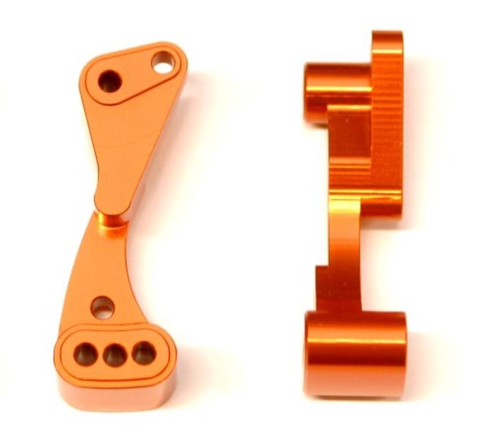 ST Racing CNC Machined Aluminum Wheelie Bar Mount for Associated DR10 - Orange, 71070O