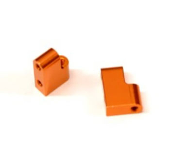 ST Racing CNC Machined Aluminum Steering Servo Mount for Associated DR10 - Orange, STC91391SO