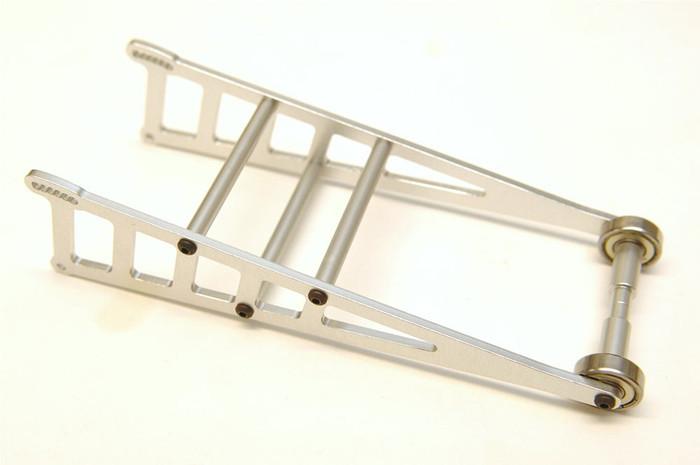 ST Racing CNC Machined Aluminum Drag Wheelie Bar Kit for 2WD Slash/Rustler/Bandit - Silver, ST3678WS