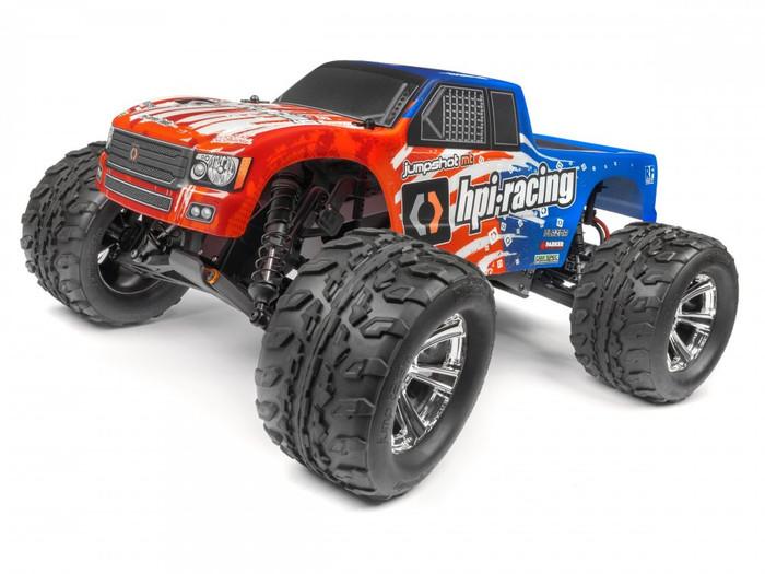 HPI Jumpshot V2 1/10 Monster Truck RTR 2WD, 120080