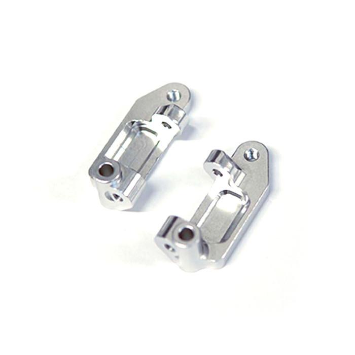 ST Racing Concepts Aluminum Caster Blocks for Drag Slash/2WD Bandit (Silver), 2432S