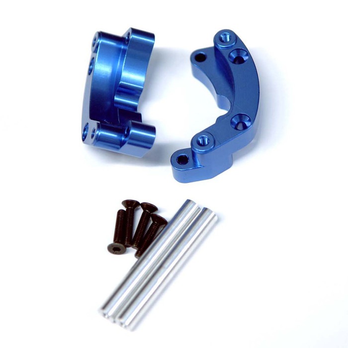 ST Racing Concepts Aluminum Rear Wheelie Bar Mount for Traxxas Drag Slash (Blue), 9460B
