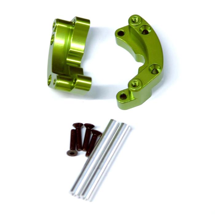 ST Racing Concepts Aluminum Rear Wheelie Bar Mount for Traxxas Drag Slash (Green), 9460G