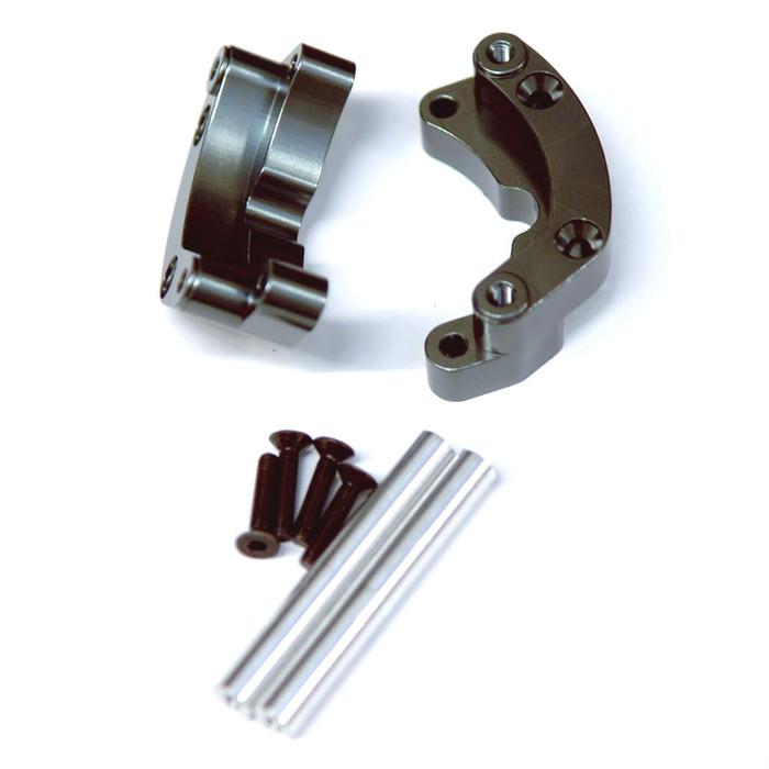 ST Racing Concepts Aluminum Rear Wheelie Bar Mount for Traxxas Drag Slash (Gun Metal), 9460GM