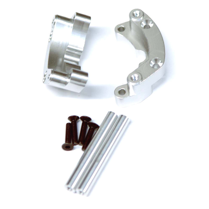 ST Racing Concepts Aluminum Rear Wheelie Bar Mount for Traxxas Drag Slash (Silver), 9460S