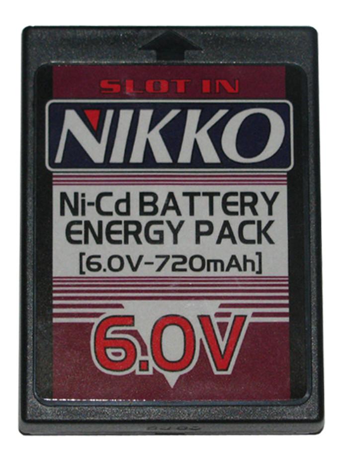 Nikko 6.0V Ni-Cd Battery Cassette